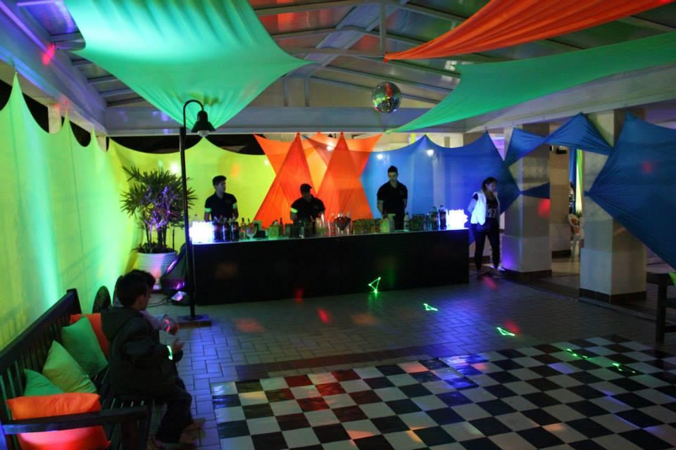 Well-known Quiz Eventos - Festa - Balada Neon-Laranja, verde, amarelo e azul RM64